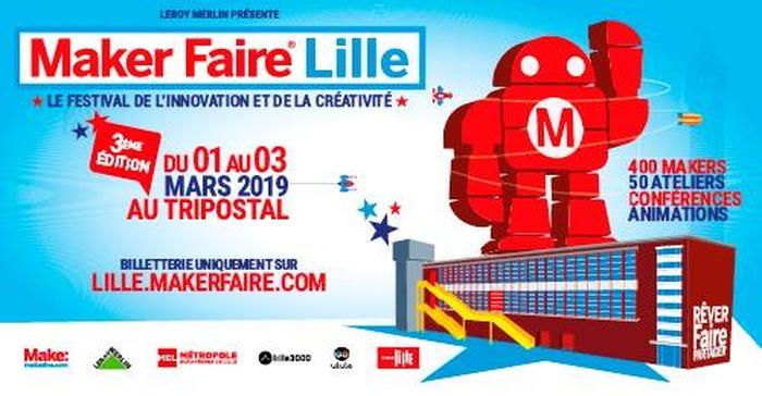 Maker Faire Lille : faire par soi-même !