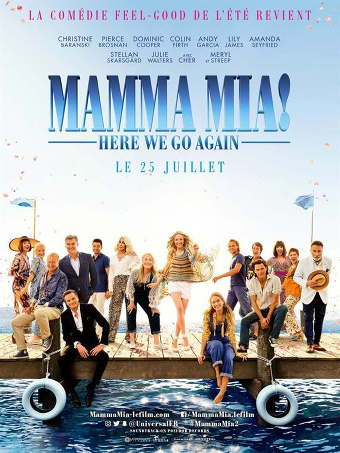 MAMMA MIA ! HERE WE GO AGAIN - SORTIE NATIONALE