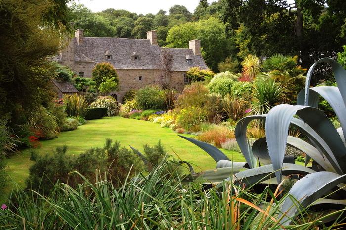 Crédits image : Gérard Jean, les jardins de Pelllinec
