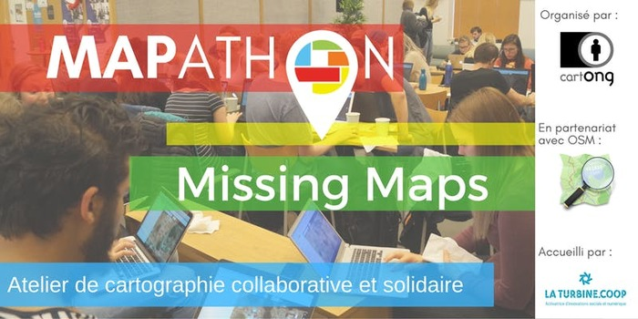 Mapathon Missing Maps : Cartographiez pour la bonne cause