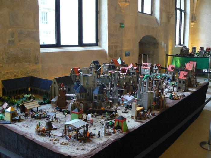 Journées du patrimoine 2017 - Maquettes Playmobil, du Moyen-âge au futur
