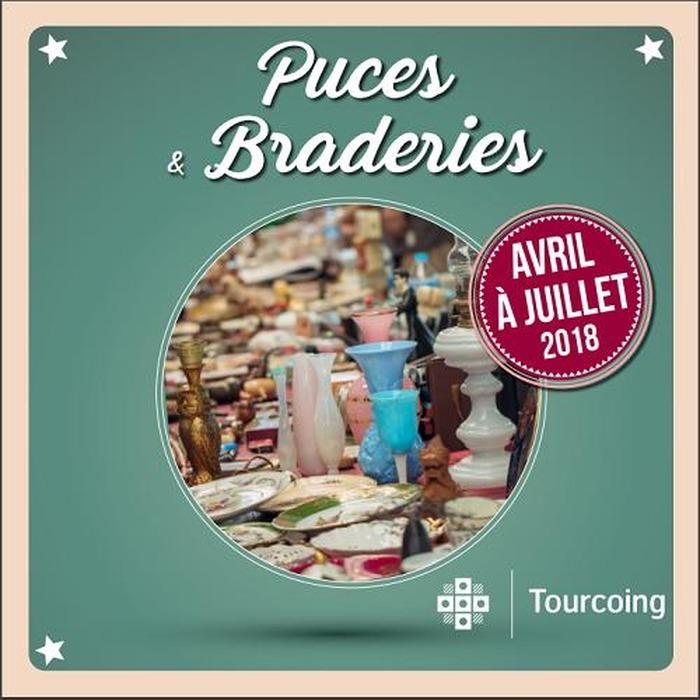 Marché aux puces à Tourcoing