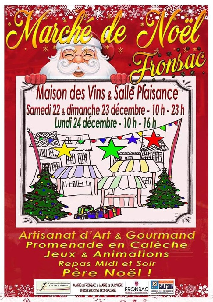 Marché de Noel à Fronsac