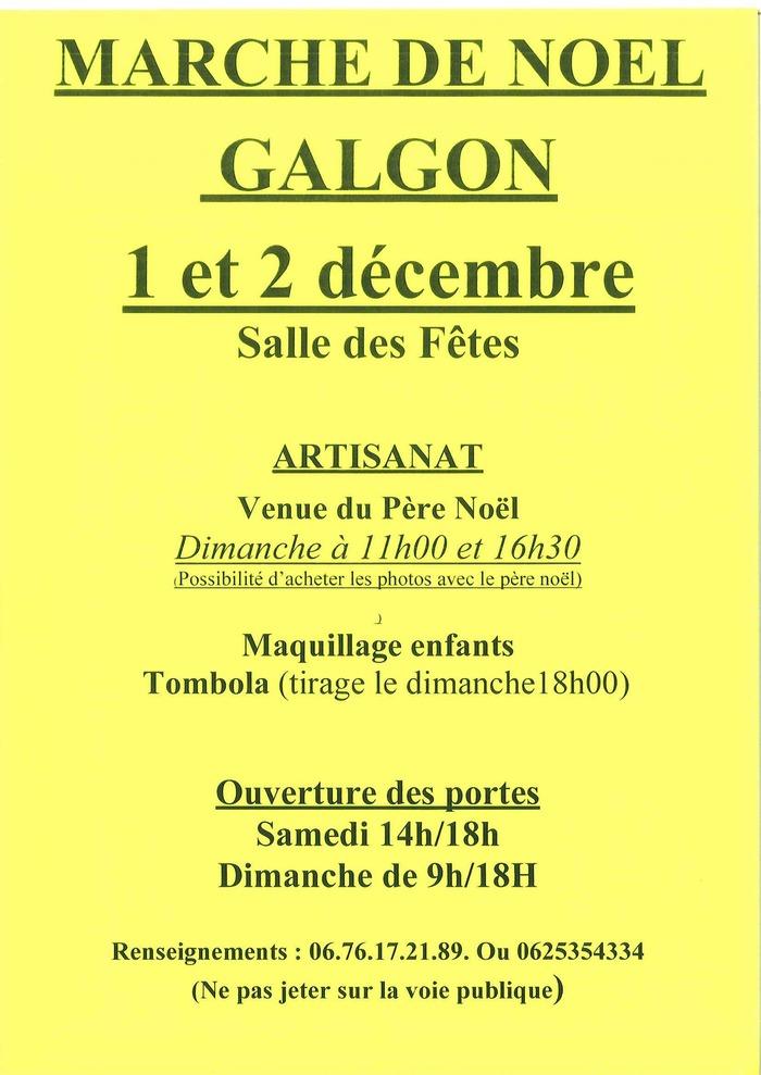 Marché de Noël à Galgon