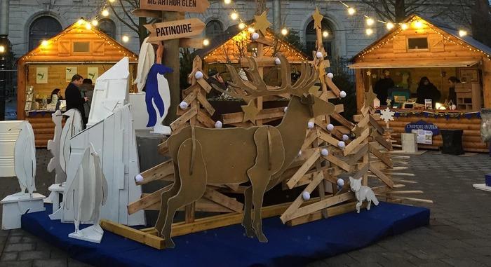 Marché de Noël durable