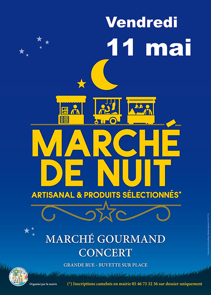MARCHÉ DE NUIT, GOURMAND, CONCERT