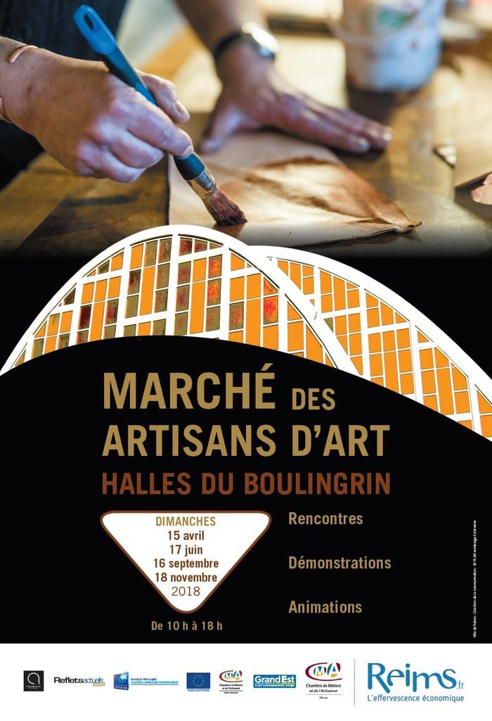 Journées du patrimoine 2018 - Marché des Artisans d'Art du Boulingrin