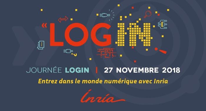 Mardi 27 Novembre 2018 : journée LOGIN  entrez dans le monde numérique avec Inria