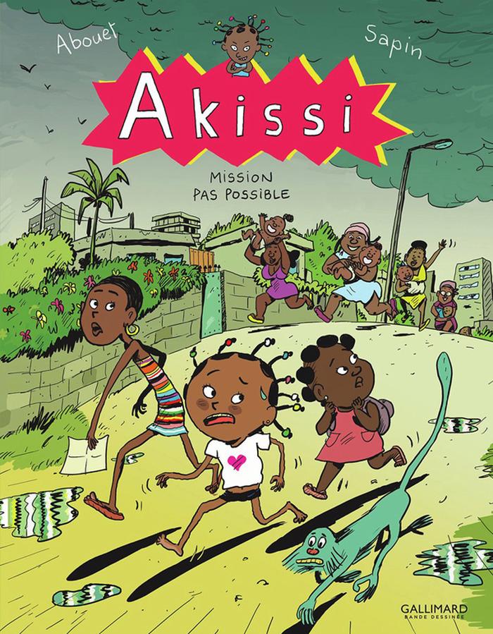 Marguerite Abouet et Mathieu Sapin pour Akissi