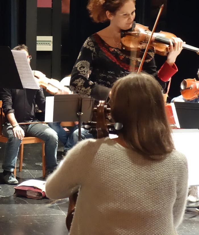 Journées du patrimoine 2018 - Marie Cantagrill et ses musiciens en répétition publique