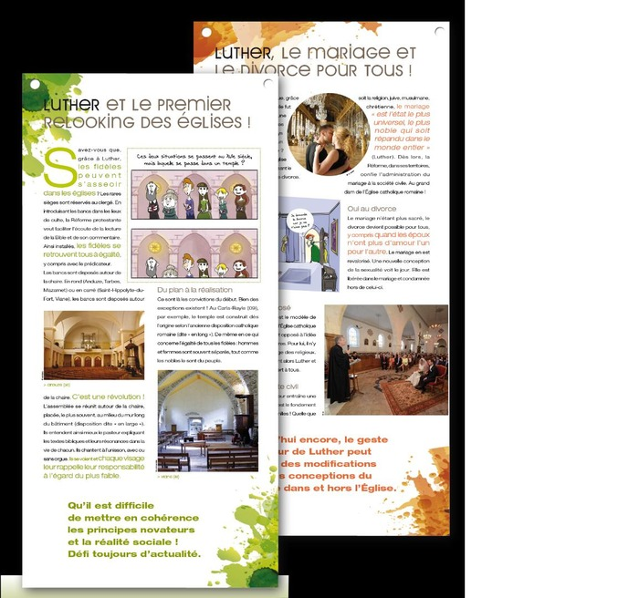 Journées du patrimoine 2018 - Exposition : Martin Luther au temple protestant