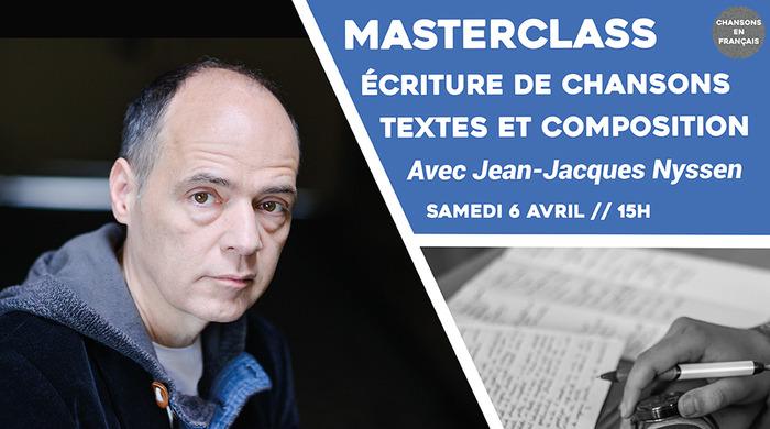 Masterclass : Ecriture de chansons : Textes et composition