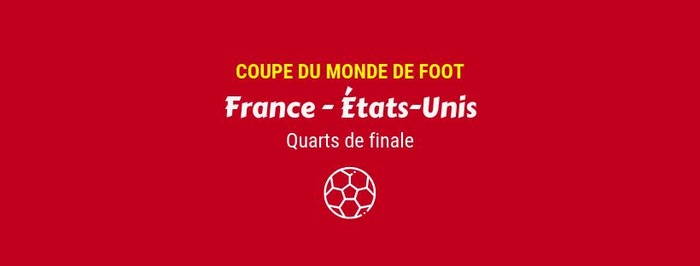 Match France - États-Unis
