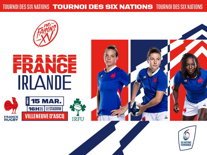 Match du Tournoi des 6 Nations France vs Irlande