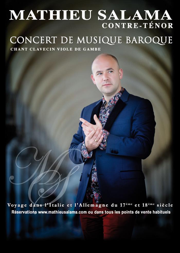 Mathieu Salama Contre-Ténor Arias Baroques