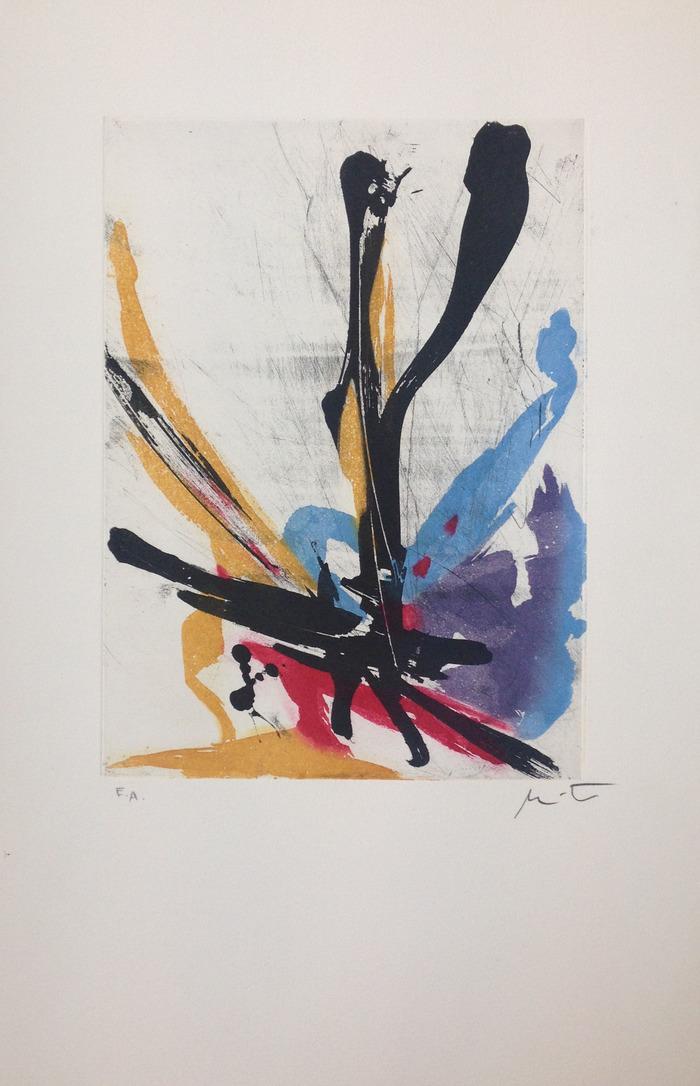 Crédits image : Miotte, sans titre. Collection Galerie Sirénades, Dinard.
