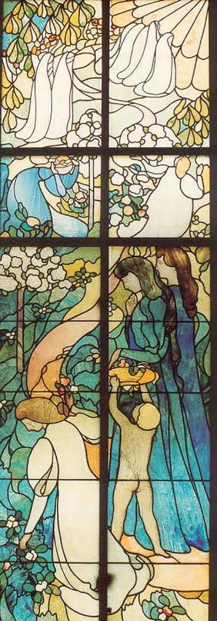 Crédits image : Maurice Denis, Le Chemin de la vie. Coll. musée Maurice Denis. Photo DR.