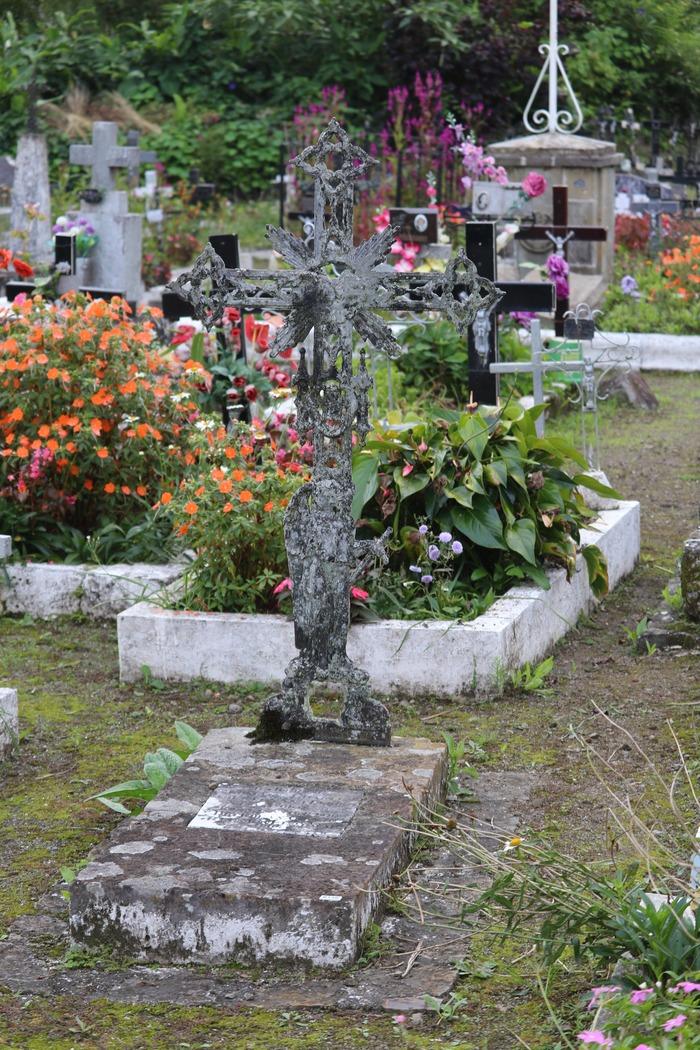 Journées du patrimoine 2017 - Médiation sur le processus de la restauration de la croix funéraire de Charles GERMAIN