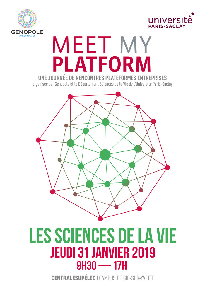 Meet My Platform | Université Paris-Saclay - Sciences de la vie
