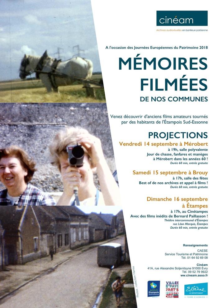 Journées du patrimoine 2018 - Mémoires filmées