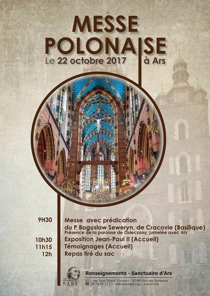 Messe polonaise à Ars