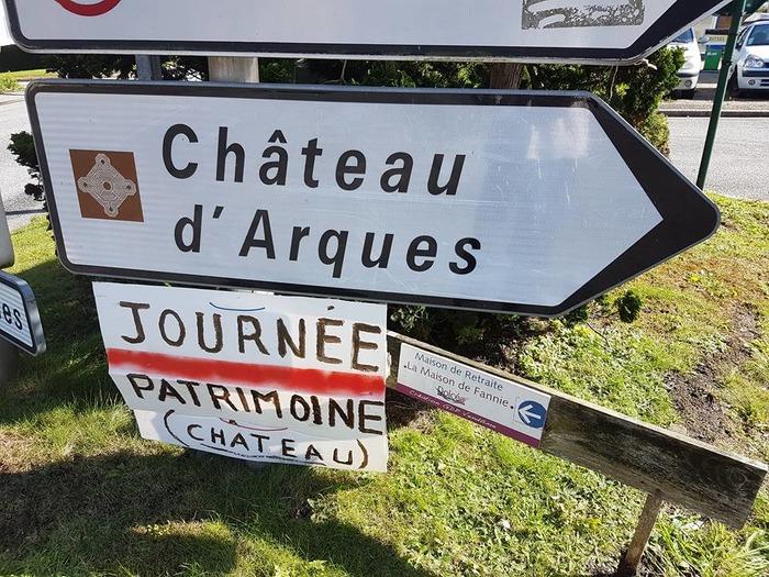 Journées du patrimoine 2018 - mini camp médiéval au château d'Arques