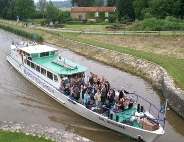 Journées du patrimoine 2018 - Mini-croisière commentée dans le tunnel de Saint-Albin