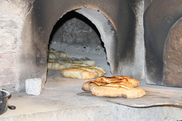 Journées du patrimoine 2018 - Mise en fonction du four à pains