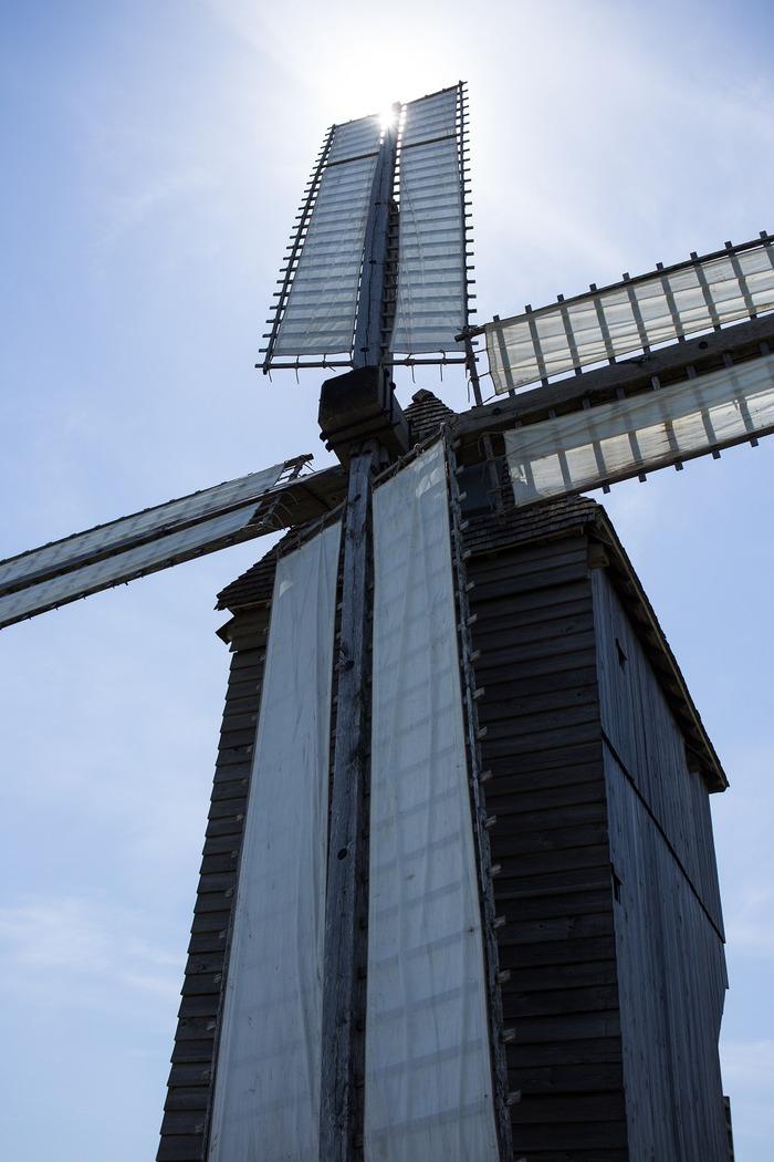 Mise en mouvement du moulin