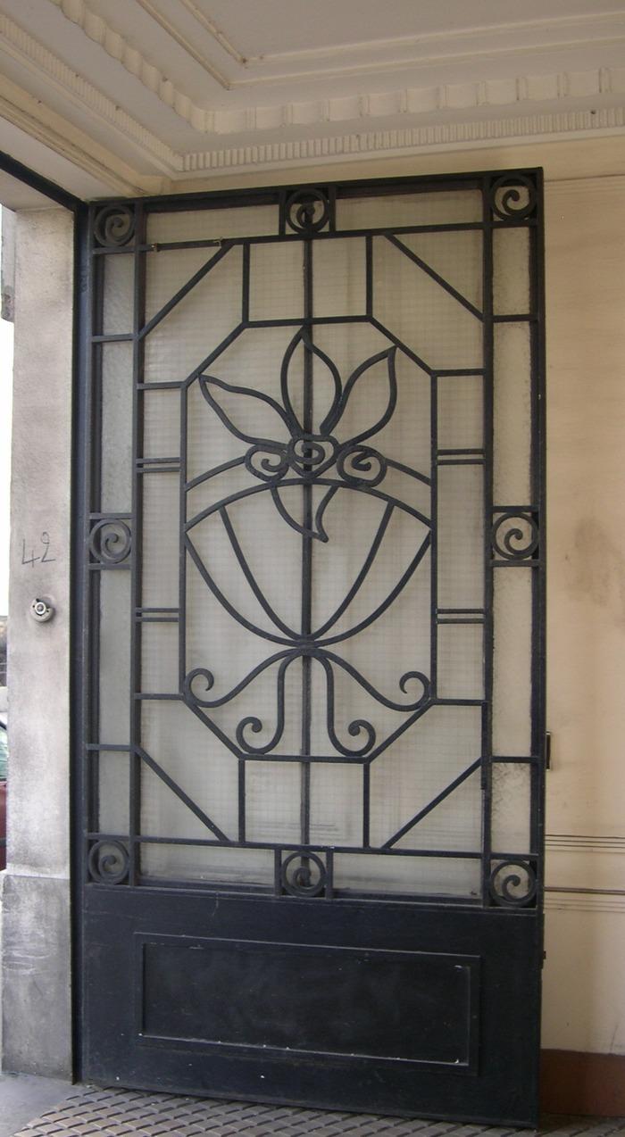 Journées du patrimoine 2018 - Mobilier Art Déco ou Art Nouveau présent dans nos rues