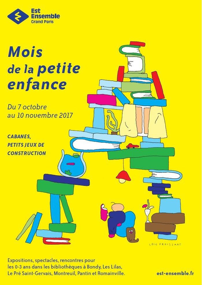 Mois de la petite enfance 2017 cabanes petits jeux de for Salon petite enfance 2017