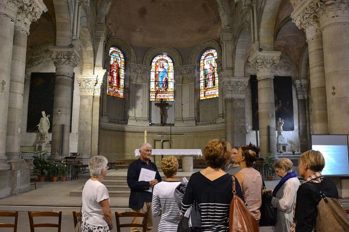 Journées du patrimoine 2018 - Visite commentée ou libre de l'Église Saint-Nicolas.