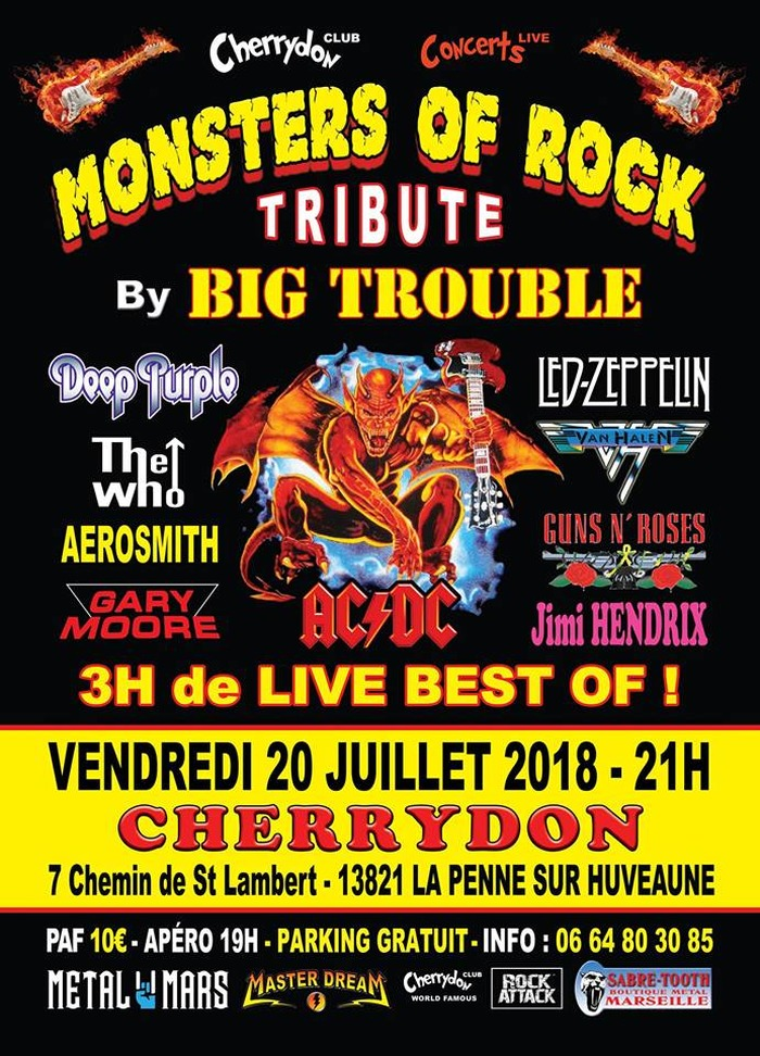 Monsters of Rock Tribute By Big Trouble