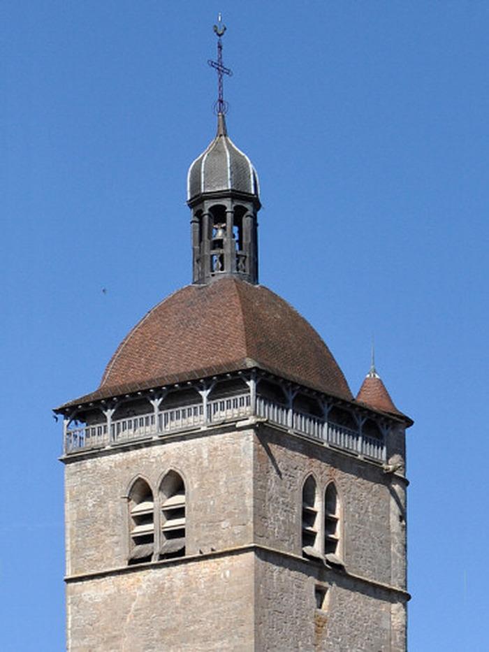 Journées du patrimoine 2018 - Montée au clocher de l'Église d'Orgelet