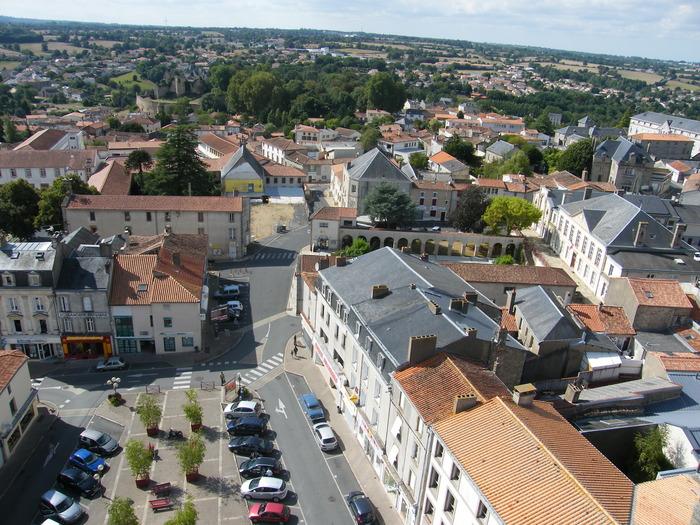 Journées du patrimoine 2017 - Montée au clocher de l'église Notre-Dame de Bressuire