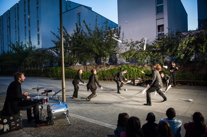 Journées du patrimoine 2018 - Monument - performance du Collectif Protocole