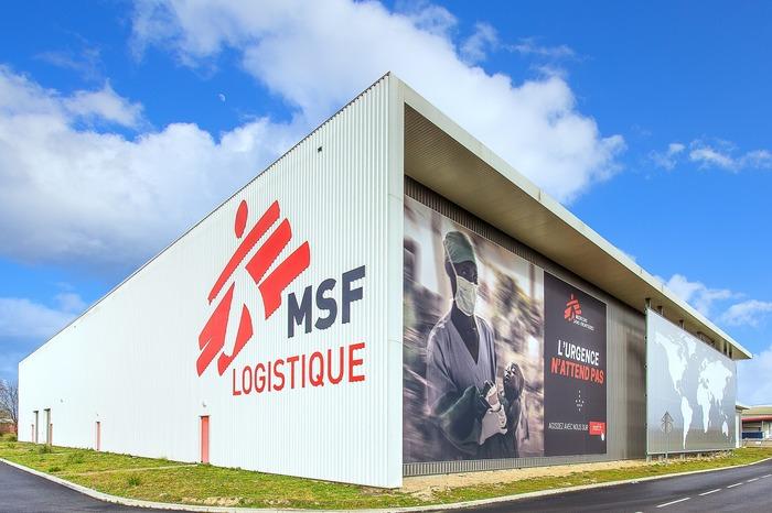 Crédits image : © MSF Logistique