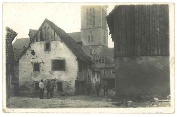 Crédits image : Vieux Munster ©Archives municipales de la Ville de Munster