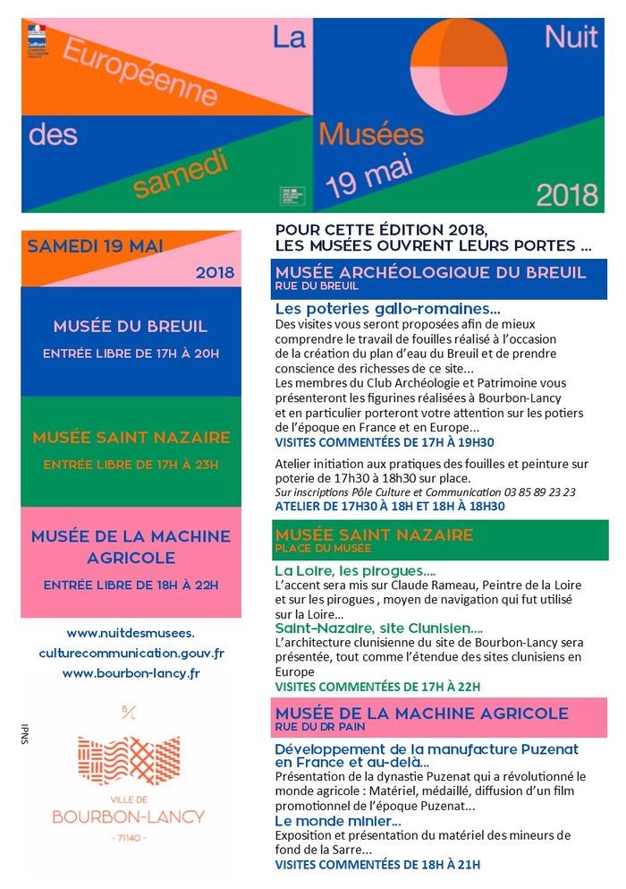 Musée Archéologique du Breuil : Visites commentées