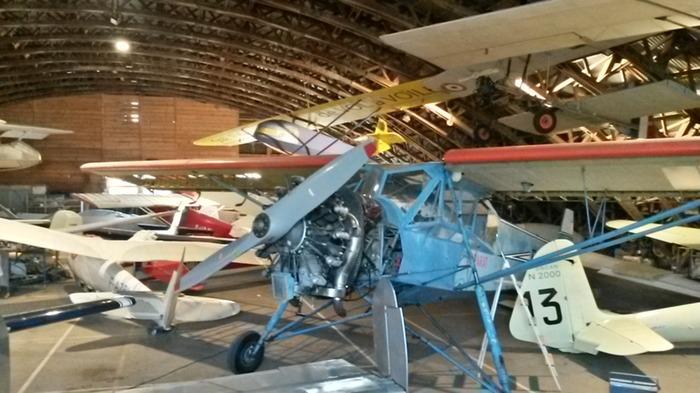 Journées du patrimoine 2018 - Visite libre du musée d'aviation légère de la Montagne Noire
