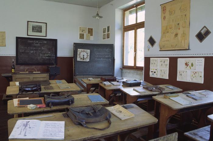 Journées du patrimoine 2018 - Musée de l'école d'Echery