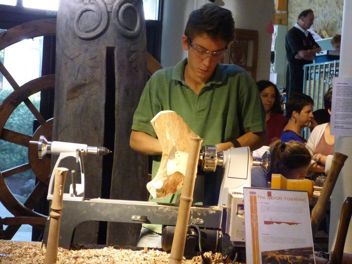 Journées du patrimoine 2017 - Démonstration de savoir-faire au musée du Bois et de la Marqueterie