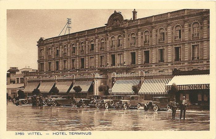 Crédits image : Hôtel Terminus en 1932-commons-wikimedia-libre de droits