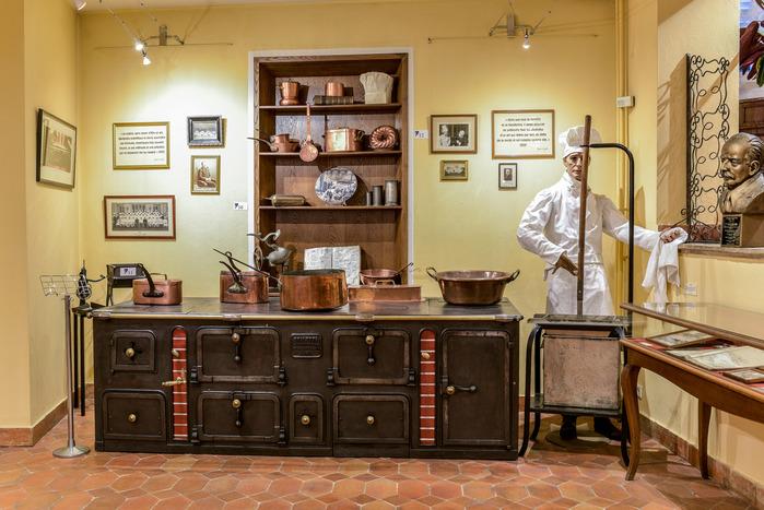 Crédits image : Musée Escoffier de l'Art Culinaire - Patrick Gauthey