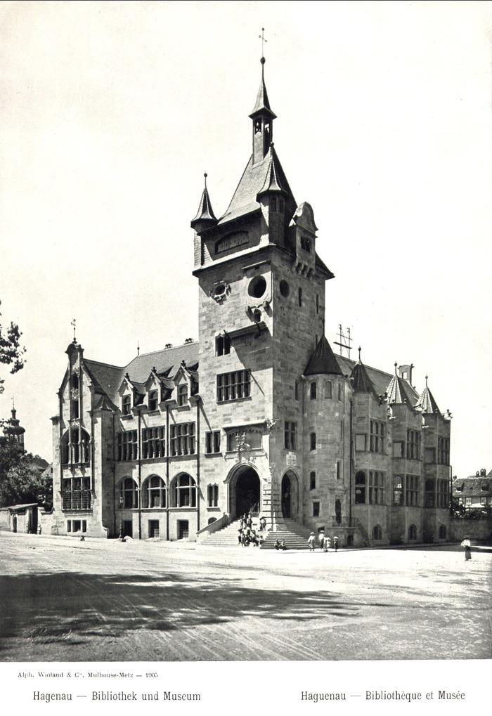 Crédits image : Musée en 1905 - (c) Musées de Haguenau