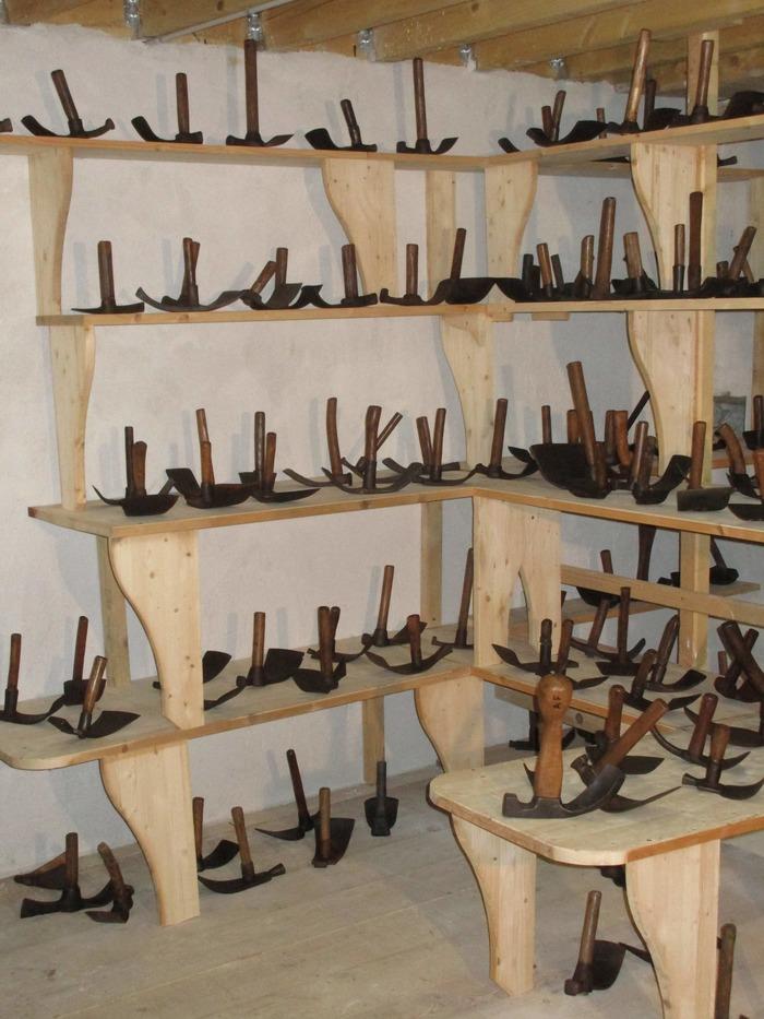 Journées du patrimoine 2018 - Visite d'un musée privé présentant des outils anciens des métiers du bois et du fer