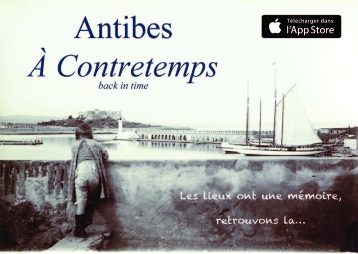 Journées du patrimoine 2018 - Musée (virtuel) Antibes à Contretemps