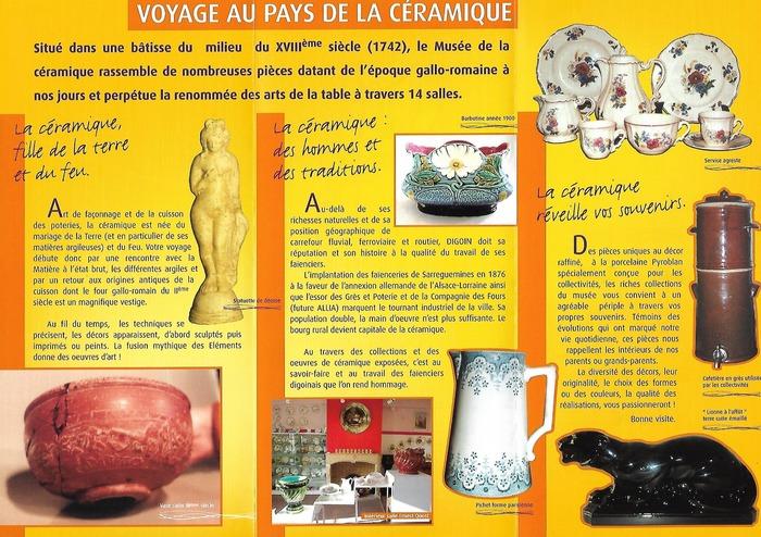 Journées du patrimoine 2018 - Visite du Musée de la Céramique