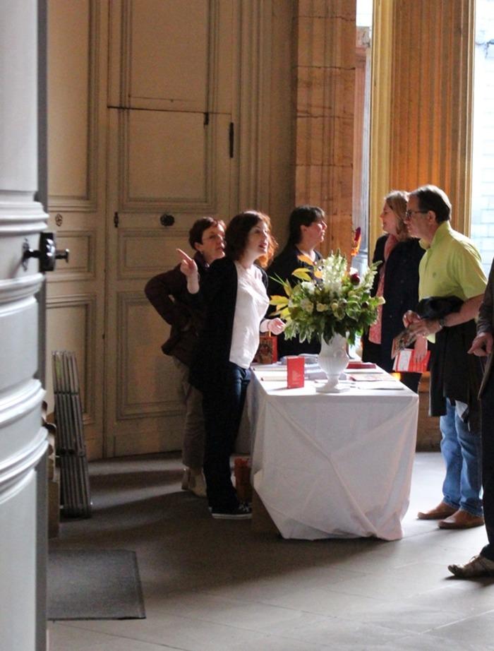 Crédits image : Stand d'accueil du Palais Rohan, photo: Musées de Strasbourg