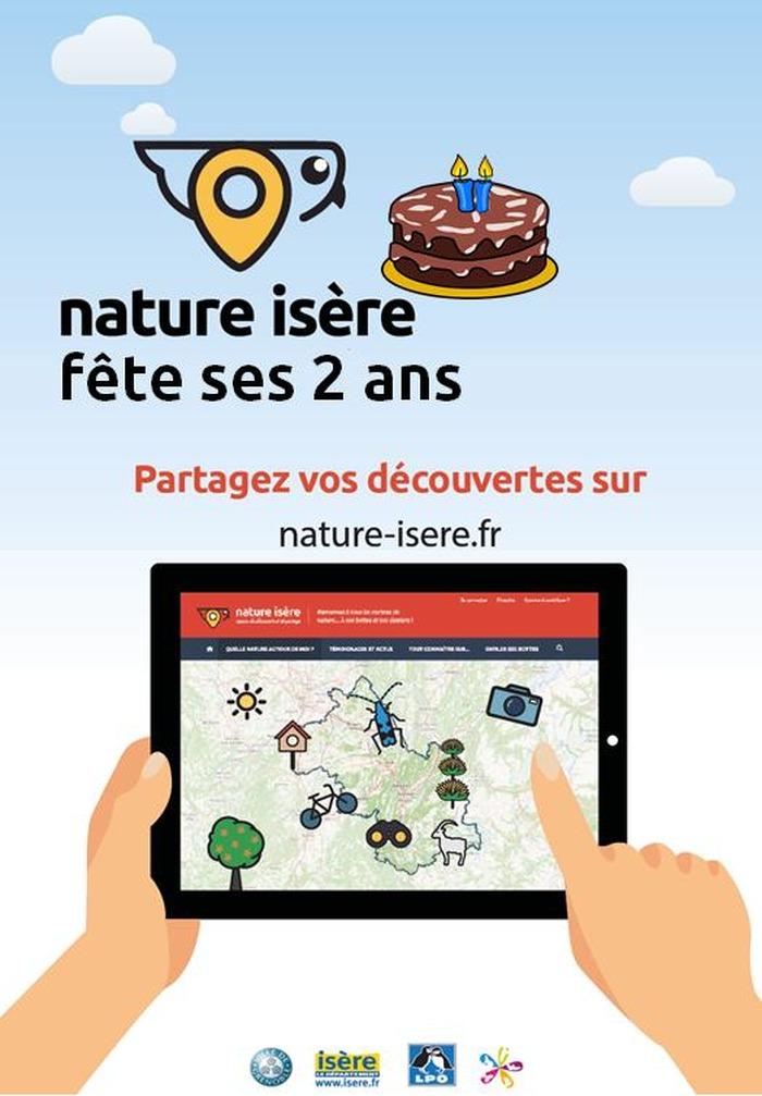 Journées du patrimoine 2018 - Découverte de nombreux stands animés par les acteurs du monde naturel isérois.